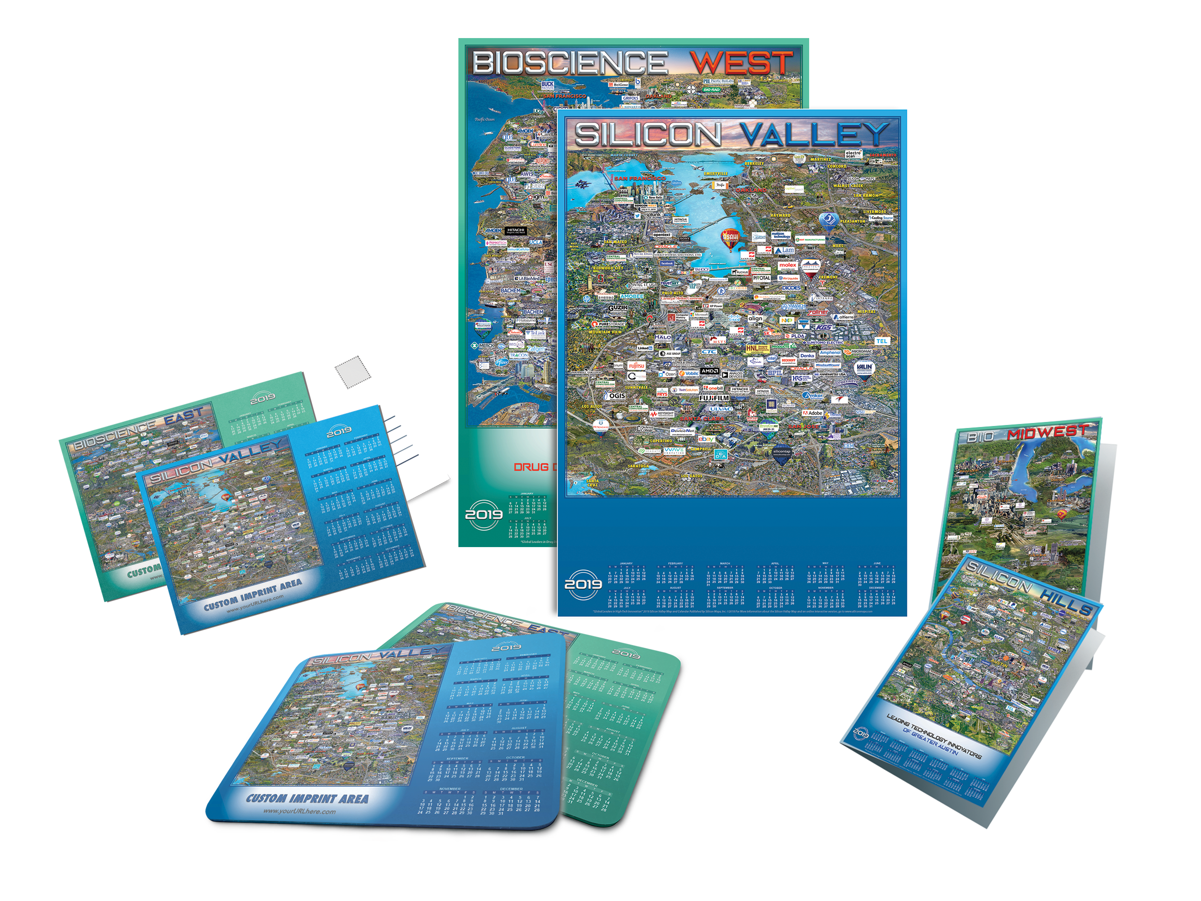 Silicon Maps Promotional Products