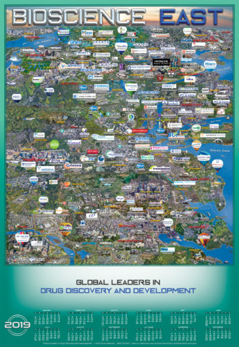 BIOSCIENCE EAST 2019 MAP AND CALENDAR