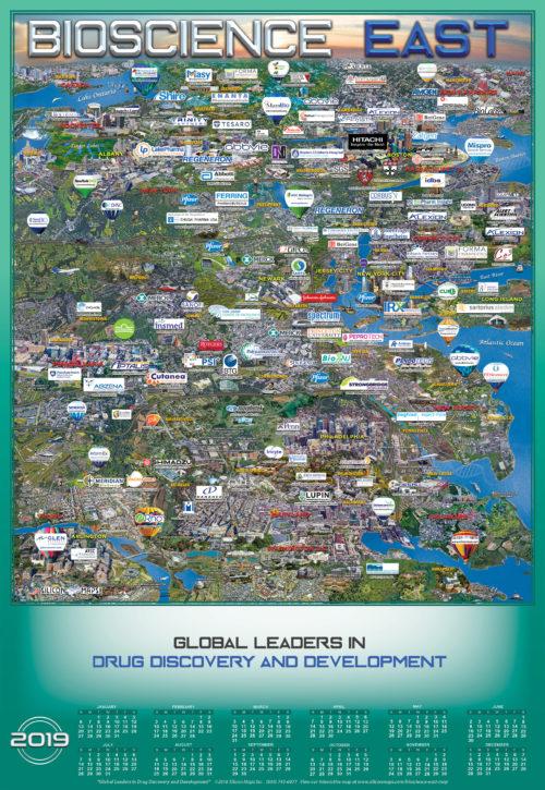 BIOSCIENCE EAST 2019 MAP AND CALENDAR