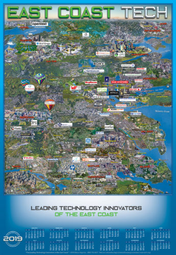 EAST COAST TECH 2019 MAP AND CALENDAR