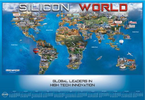 SILICON WORLD 2019 MAP AND CALENDAR