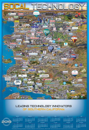 SOCAL TECHNOLOGY 2019 MAP AND CALENDAR