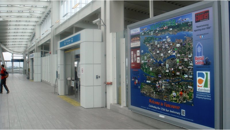 Vancouver Airport Sign - Silicon Maps