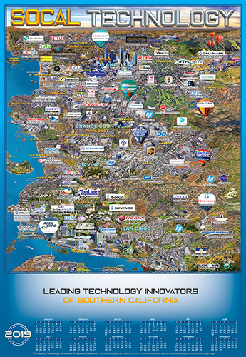 Southern California Technology map