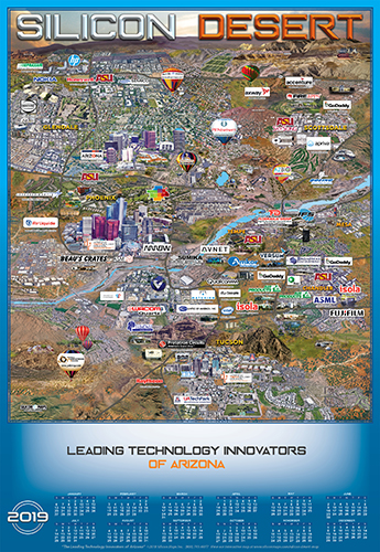 Arizona Technology map