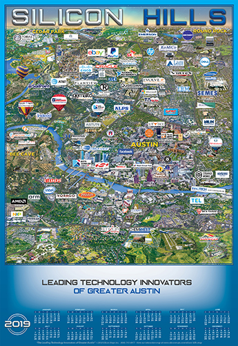 Austin Technology Map