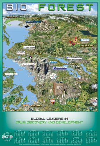 BIO Forest: Map of Washington Life Sciences Biosciences