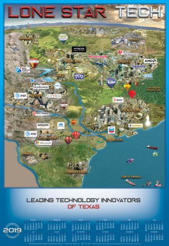 Lone Star Tech - Technology Map of Texas