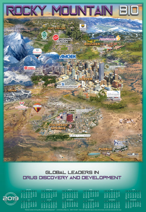 Rocky Mountain BIO - Map of Denver Colorado
